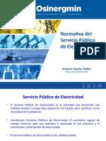 5. Normativa del Servicio Público de Electricidad - FIM - 23-10-2019