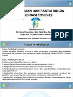 2. Mikroplaning Dan Rantai Dingin Vaksinasi COVID-19 3 Jan 2021