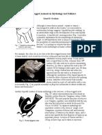 Three-Legged Animals in Mythology and Folklore