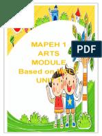MAPEH 1 ARTS
