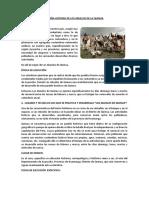 RESEÑA HISTORIA DE LOS ABUELOS DE LA QUINUA