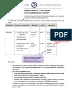 Orientaciones Para La Evaluación de La Secuencia Didáctica