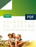 Relatório de Gestão e Sustentabilidade Unimed Fortaleza 2019