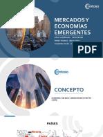 Mercados y economías emergentes