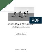 Alan S. Questel - Feldenkrais... CREATING CREATIVITY - Embodying the Creative Process-Uncommon Sensing LLC (2009)