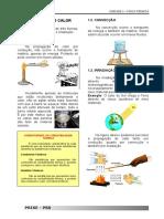 Propagação do calor, gases e termodinâmica