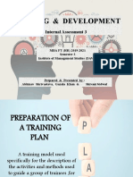 Training Plan MBA FT HR _Sem 3