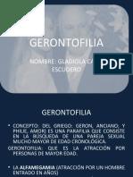 Gerontofilia. Gladiola