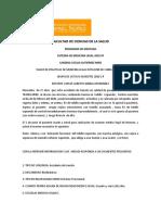 TALLER DE MEDICINA LEGAL PRACTICAS DE CLINICA