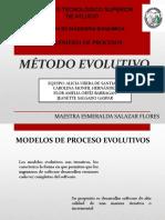 EXPO. MÉTODO EVOLUTIVO