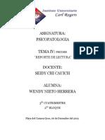 Tema 4 Psicopatologia