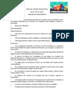 BASES DEL CONCURSO PREGUNTADOS