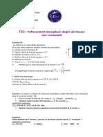 fiche TD 2redressement monophasé simple (1)