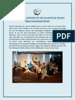 Der Ultimative Leitfaden Für Die Auswahl Der Besten Salsa Tanzschule Zürich