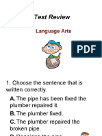 Grammar Review from Jefferson County Schools