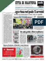 Gazzetta Mantova 21 Novembre 2010