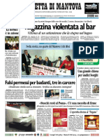 Gazzetta Mantova 20 Novembre 2010