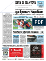 Gazzetta Mantova 19 Settembre 2010