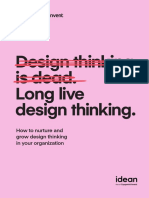 Invent With Idean Design Thinking is Dead Long Live Desing Thinking 2nd Edition