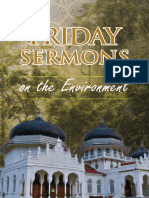 islamic sermons on the environment
