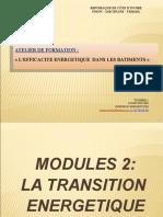Module 2. LA TRANSITION ENERGETIQUE