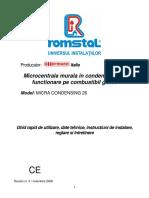 MicraCondensing26-instalarereglareintretinere