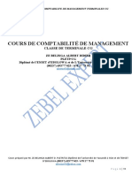 COURS INTEGRAL DE COMPTABILITE DE MANAGEMENT