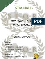 Gramática Unidad 3