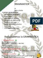Gramática Unidad 1