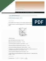 Bfem Mathematiques 2014 Sunudaara
