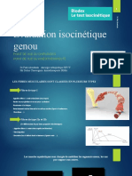 Test Isocinetique Du Genou Final