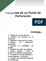01 Funciones del Fluido de Perforación