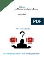 PIC vs AVR slides