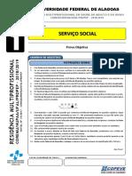 Prova - Servico Social - Tipo 1 (1) 2018