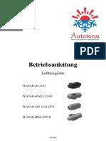 Planars Betriebsanleitung de v11.2017