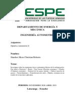 Christian Sánchez _ Leyes o principios básicos de la refrigeración
