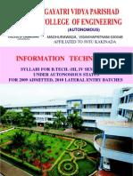2nd Year Syllabus(IT)