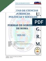 Formas de Gobierno Ciencias Politicas