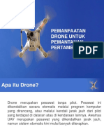PEMANFAATAN DRONE UNTUK PEMANTAUAN PERTAMBANGAN