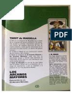 Libro del tarot de Marsella