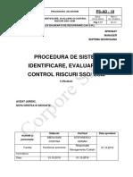 PS-AD-18 Identificare Evaluare Si Control Riscuri SSO SSM