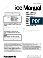 panasonic dmr es15 service manual