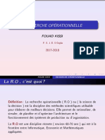 Recherche Opérationnelle (1)