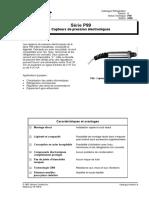 Capteurs de pression électroniques série P99