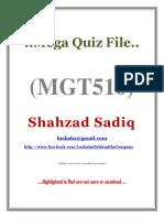 MGT510 MidTerm MegaQuizFilebyShahzadSadiq