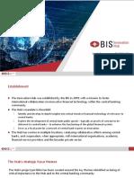 BIS Innovation Hub work programme 2021/22