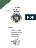 DERECHO MERCANTIL ecuatoriano