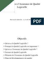 Assurance Qualité de Logiciel-1