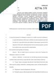 tax amnesty act 519
