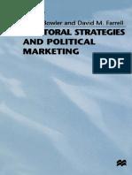 (Contemporary Political Studies) Shaun Bowler, David M. Farrell (eds.) - Electoral Strategies and Political Marketing-Palgrave Macmillan UK (1992)